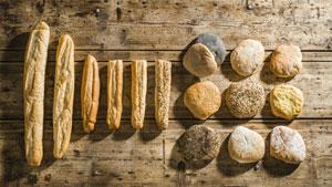 Unser Backwerk! Baguette, Croques, Fladenbrot und La Flûte backen wir auch mit Kräutern, Curry, Chili und und und