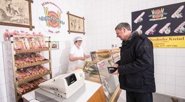 Verkauf aus der Backstube - Baguette-Bäckerei W. Stahmer